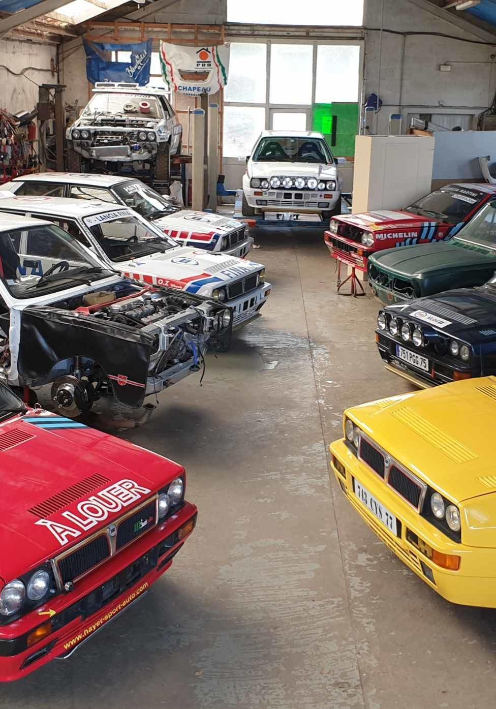Préparation d'auto pour rallyes à Cognac